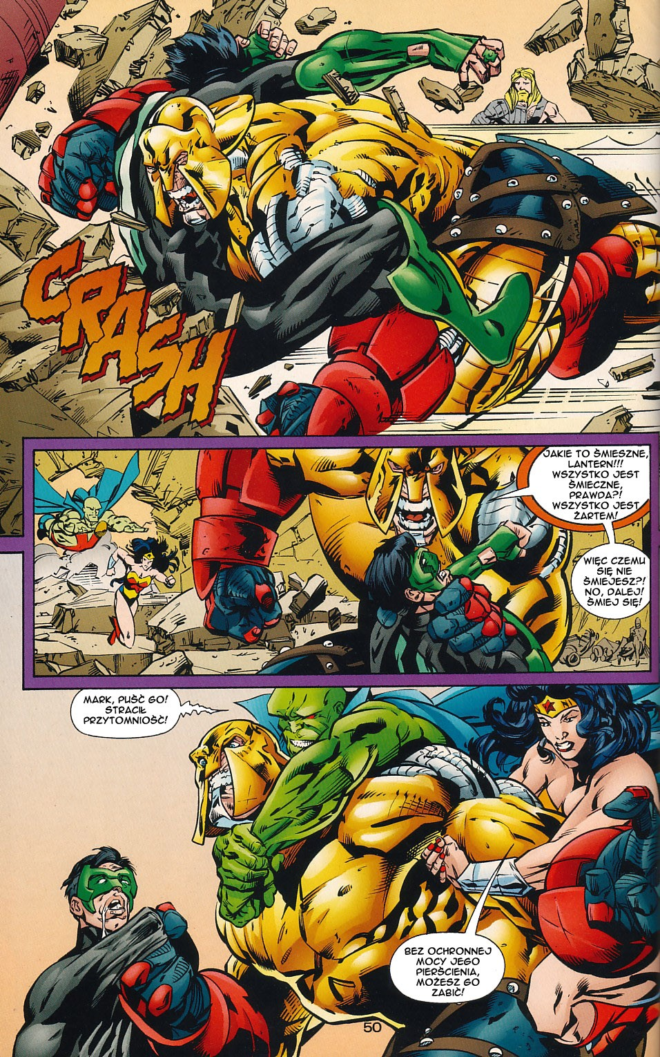 Read online JLA Superpower comic -  Issue # Full - 50