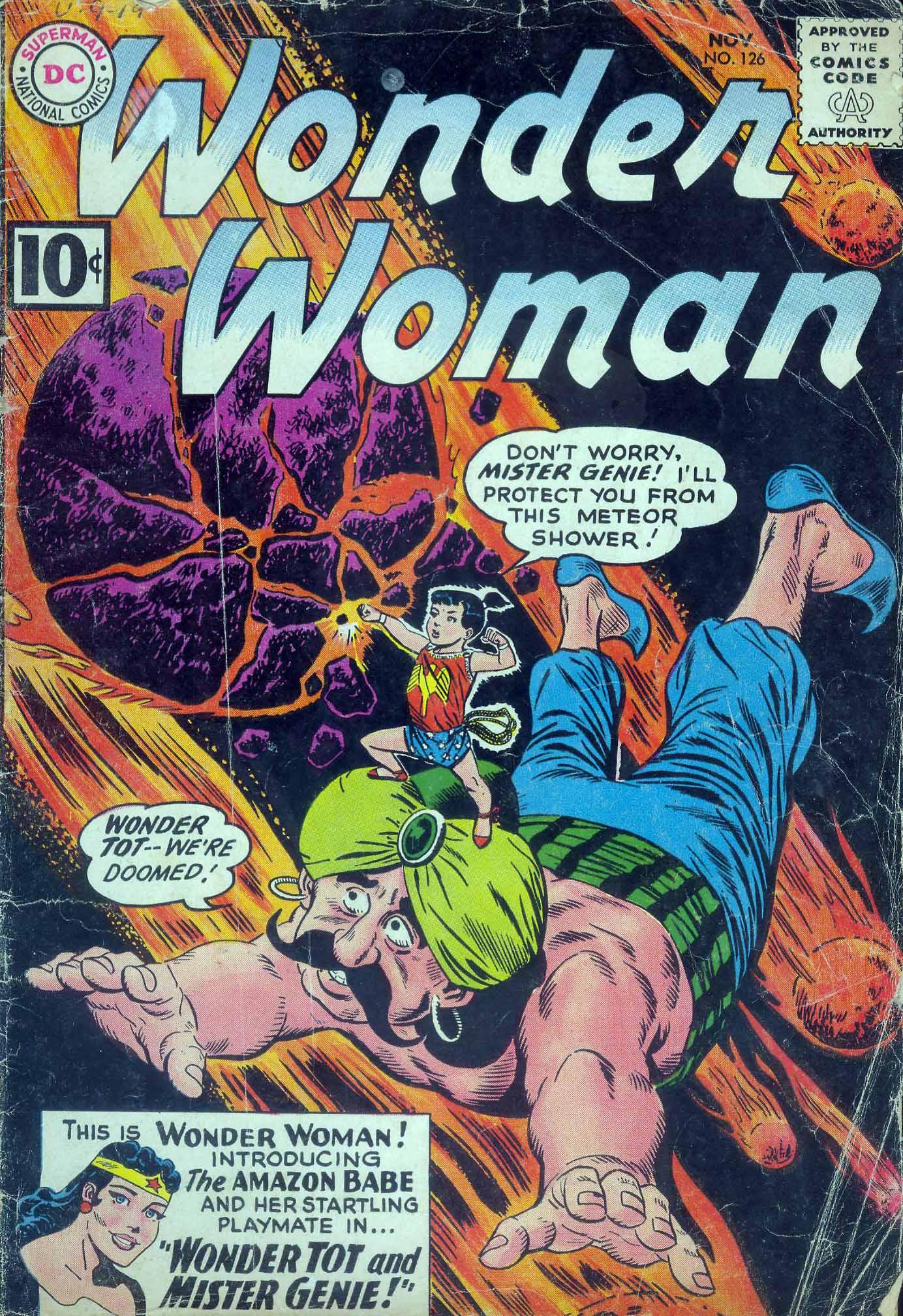Read online Wonder Woman (1942) comic -  Issue #126 - 1