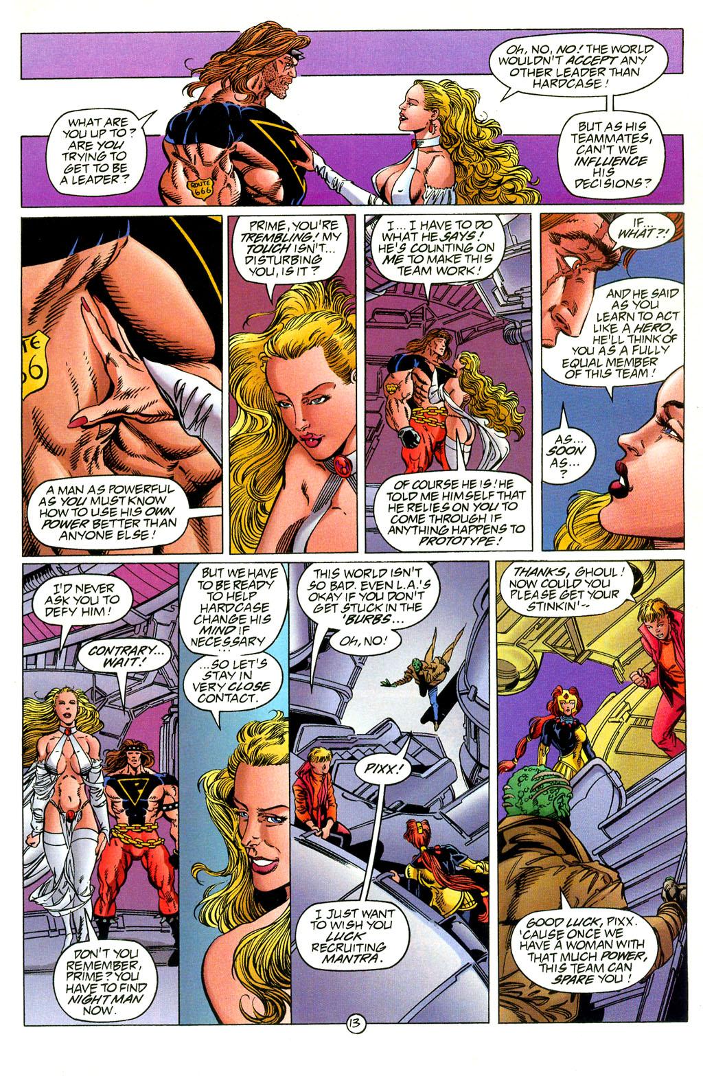 Read online UltraForce (1994) comic -  Issue #2 - 14