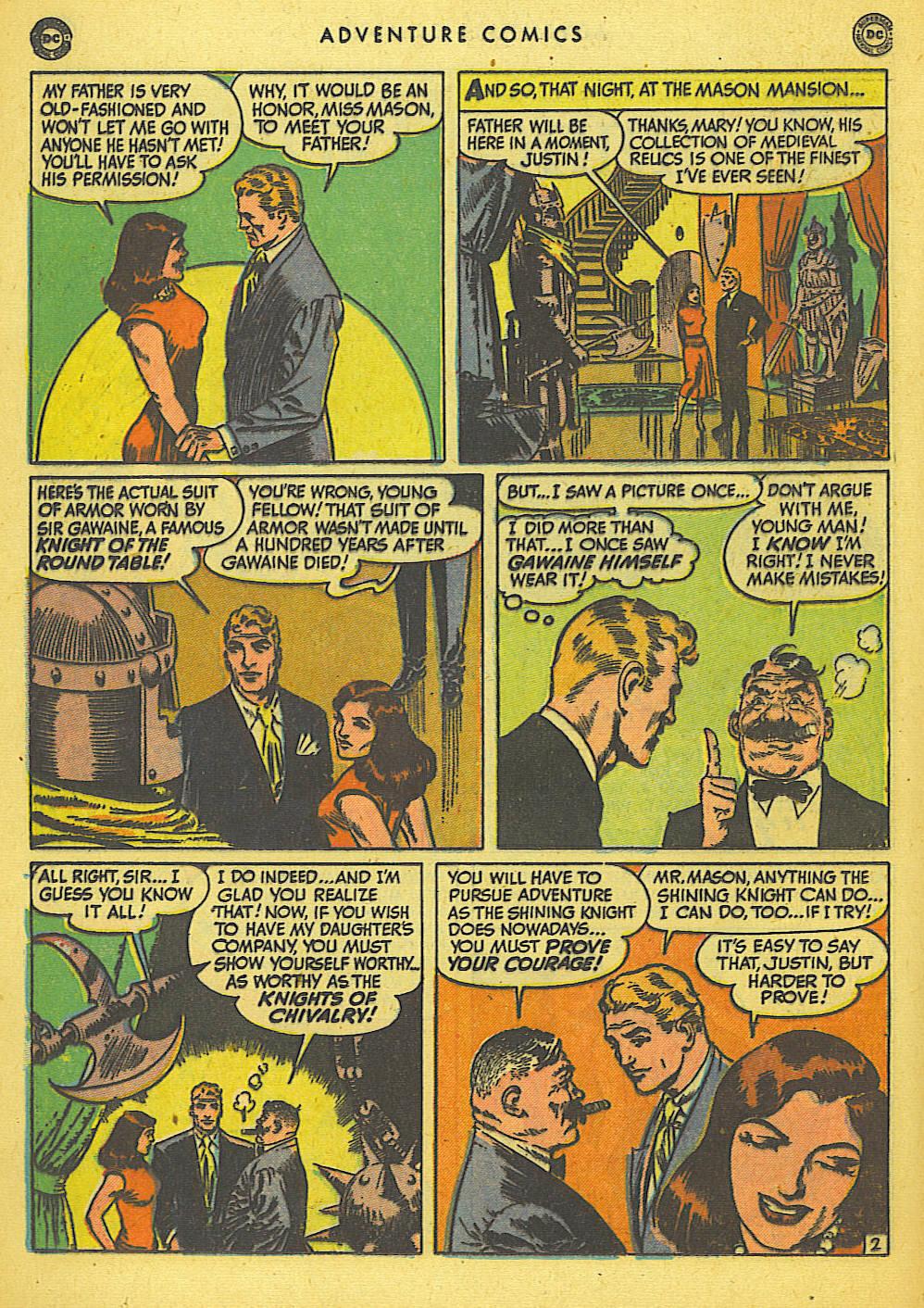 Read online Adventure Comics (1938) comic -  Issue #155 - 28