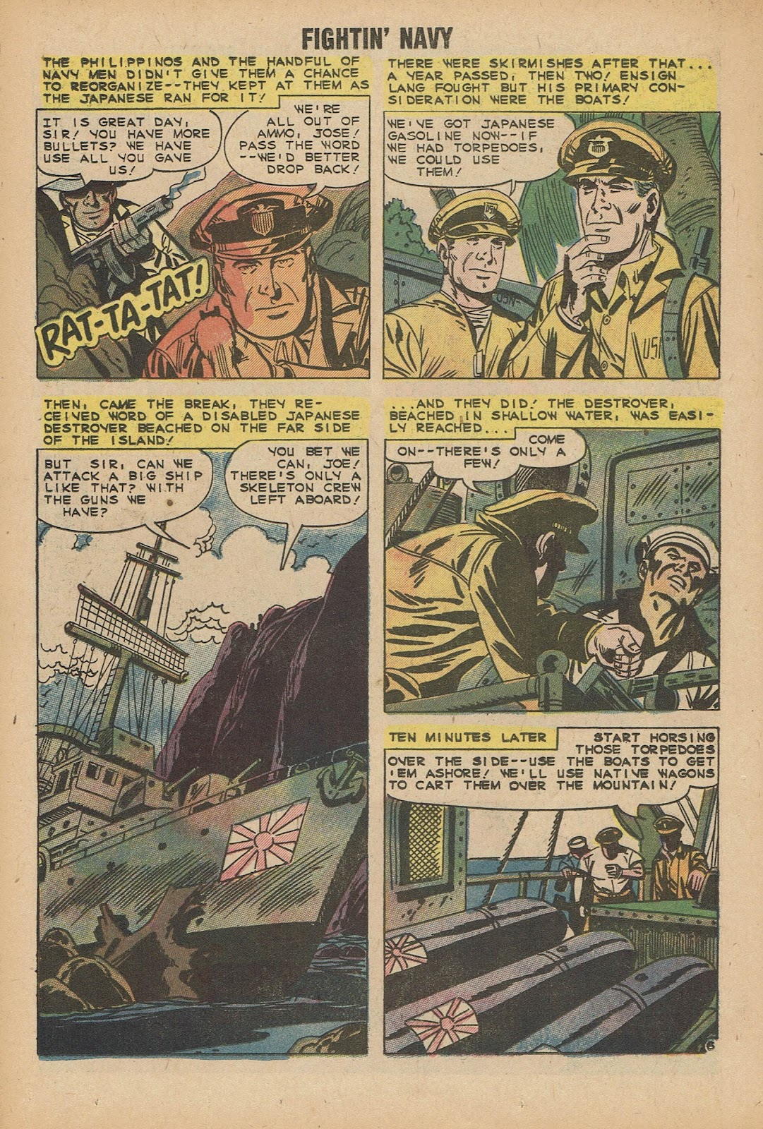 Read online Fightin' Navy comic -  Issue #92 - 18