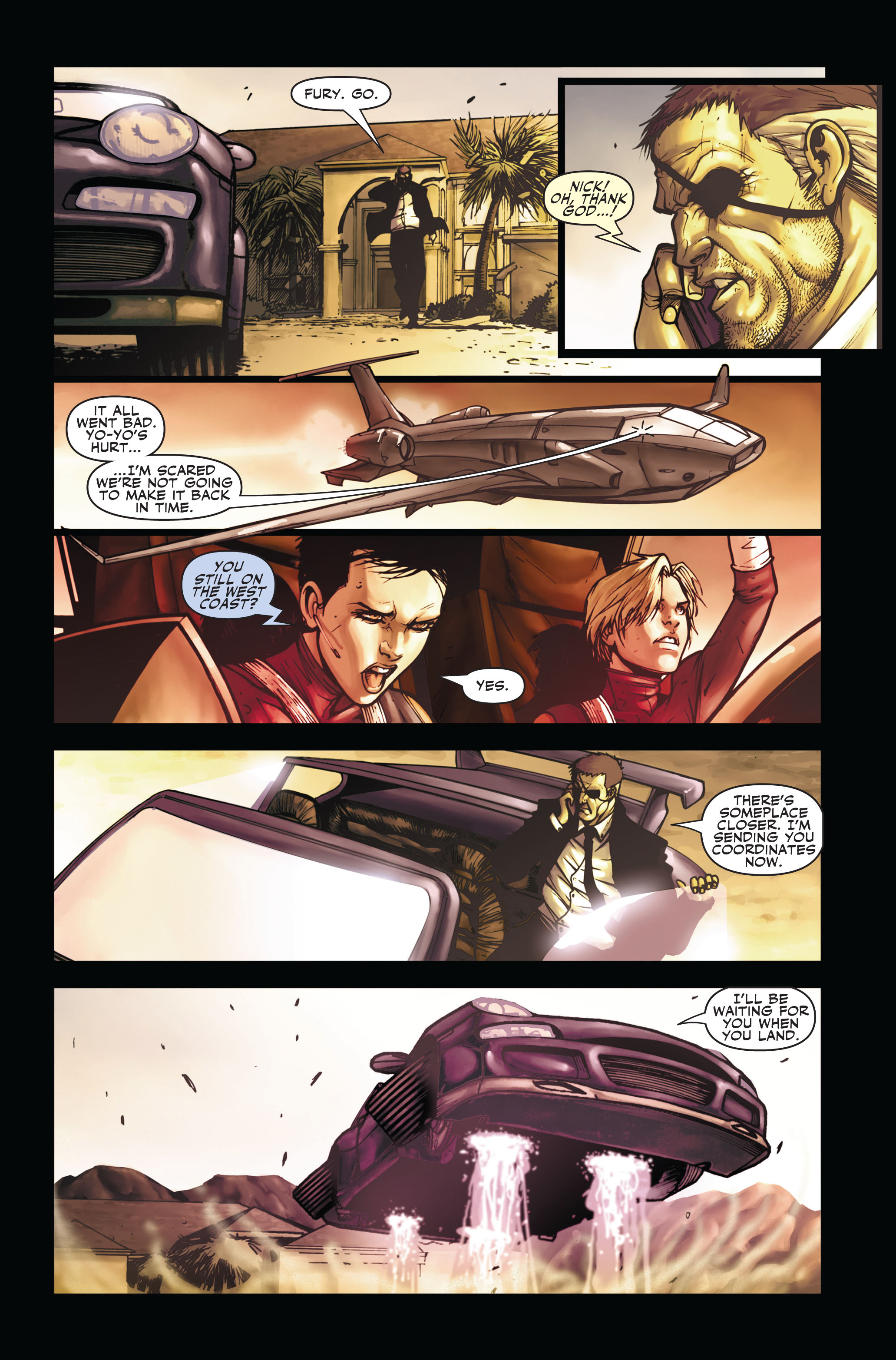 Read online Secret Warriors comic -  Issue #3 - 21