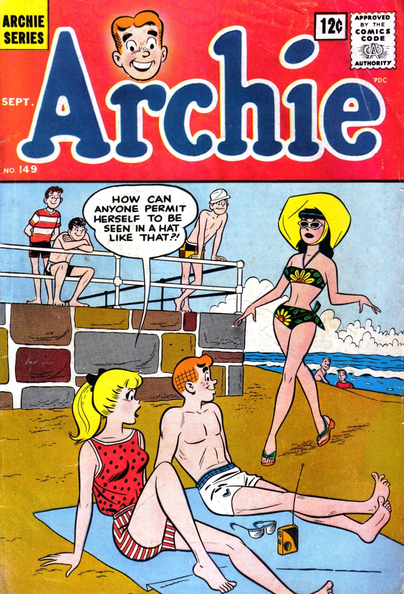 Read online Archie (1960) comic -  Issue #149 - 1