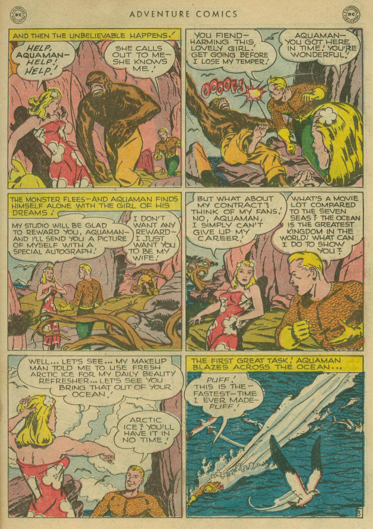Read online Adventure Comics (1938) comic -  Issue #130 - 16