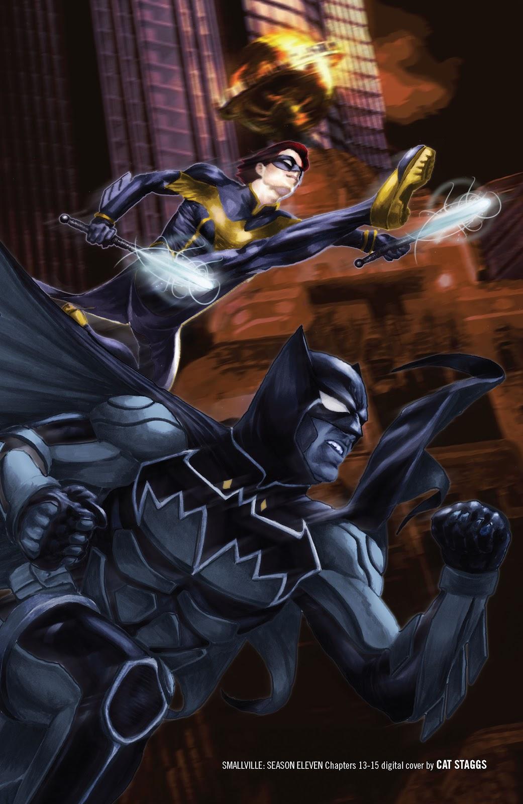 Read online Smallville Season 11 [II] comic -  Issue # TPB 2 - 133
