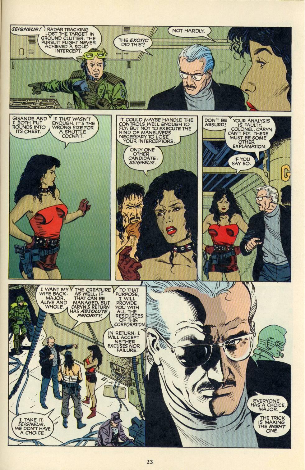Read online Aliens/Predator: The Deadliest of the Species comic -  Issue #4 - 24