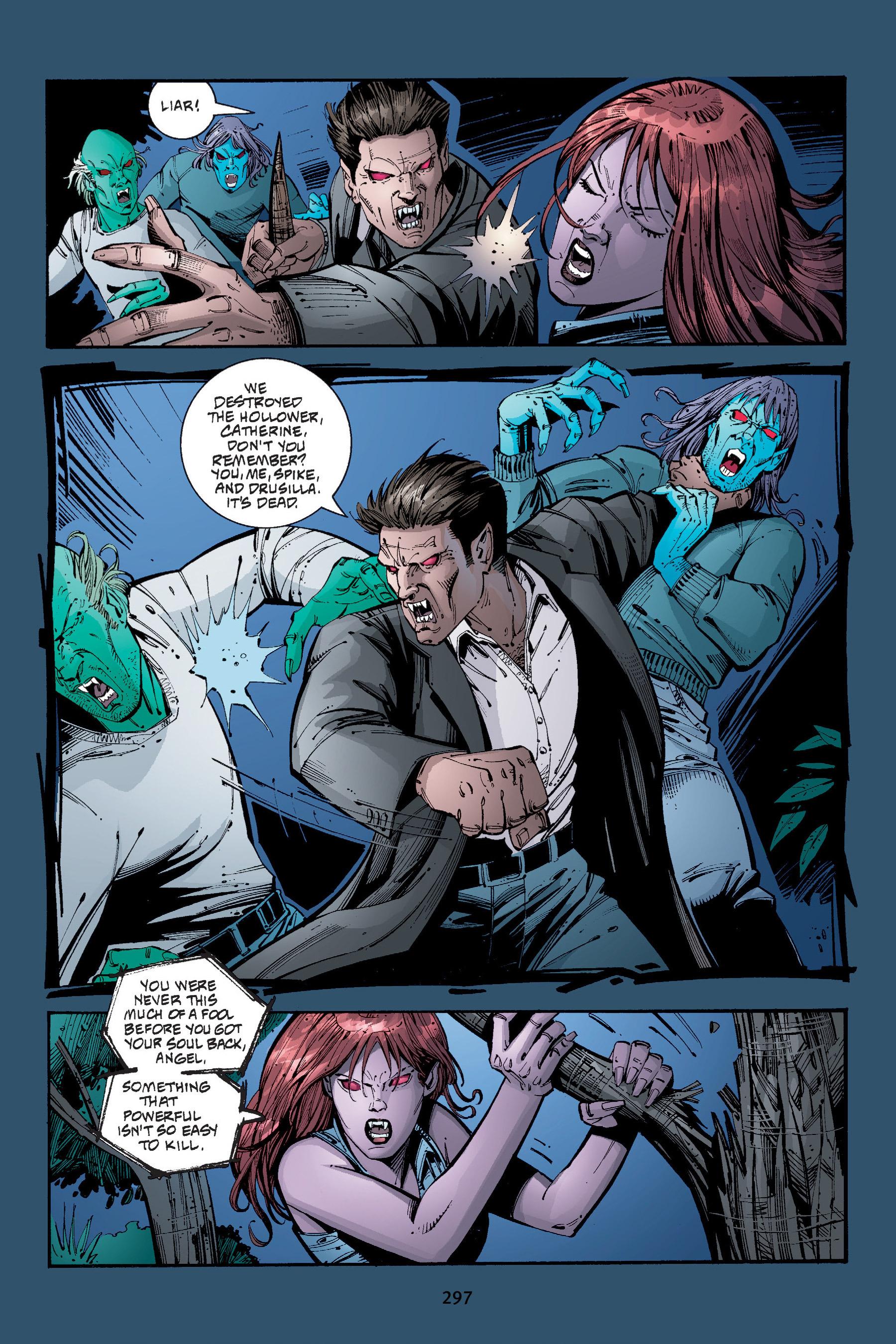 Read online Buffy the Vampire Slayer: Omnibus comic -  Issue # TPB 4 - 294
