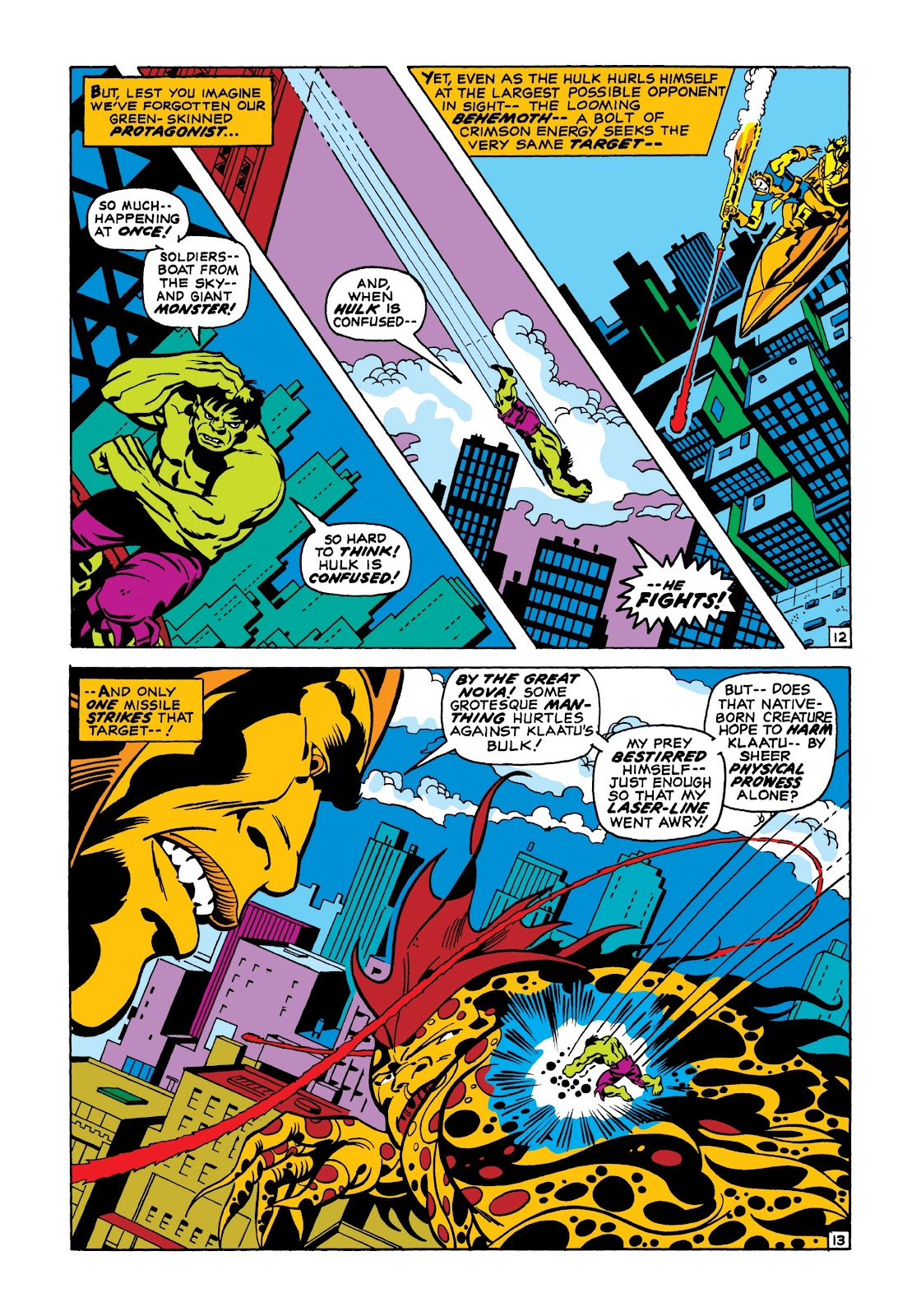 Read online Marvel Masterworks: The Incredible Hulk comic -  Issue # TPB 7 (Part 1) - 39