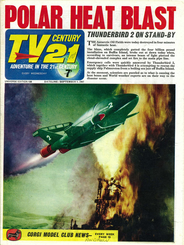 Read online TV Century 21 (TV 21) comic -  Issue #138 - 1