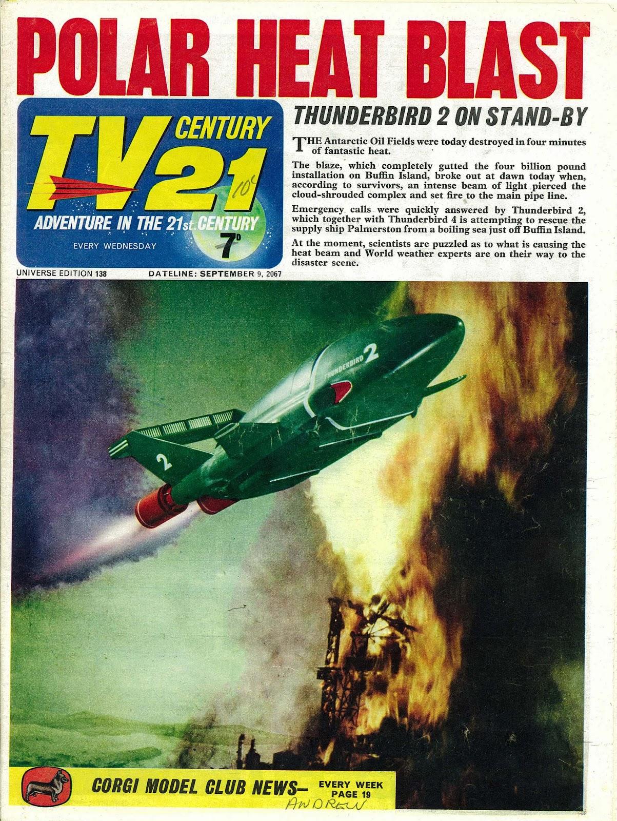 TV Century 21 (TV 21) issue 138 - Page 1