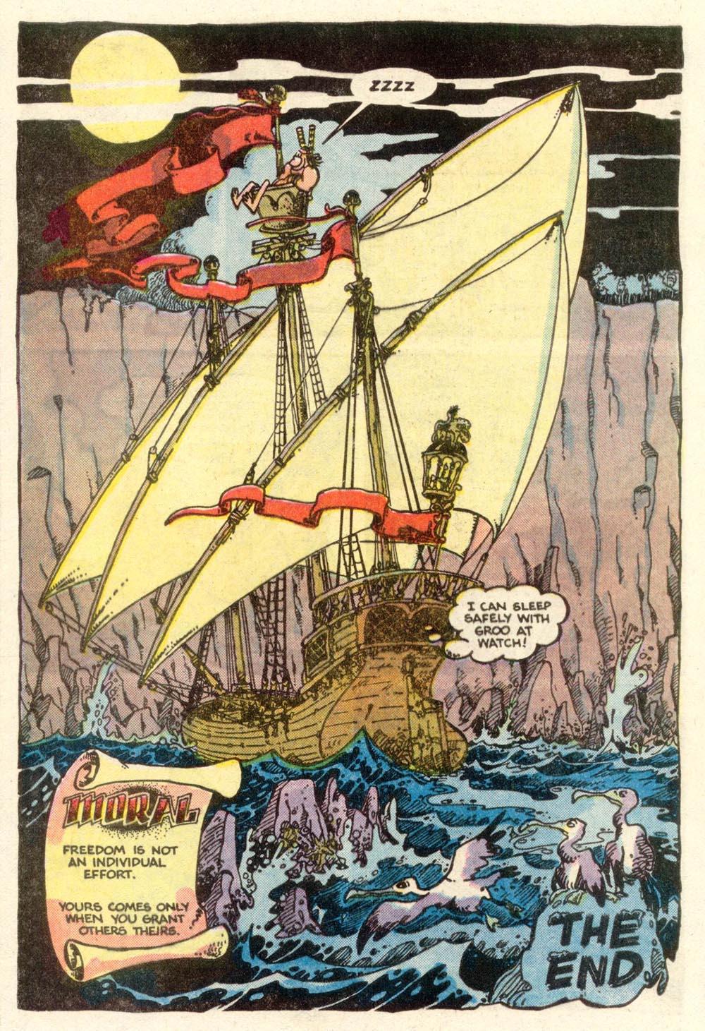 Read online Sergio Aragonés Groo the Wanderer comic -  Issue #5 - 23
