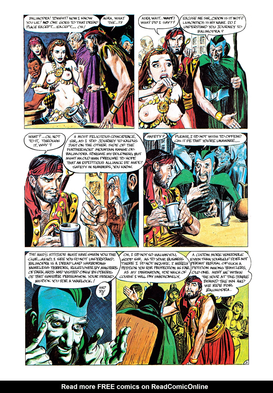 Read online Orion and Edge of Chaos comic -  Issue # TPB - 12