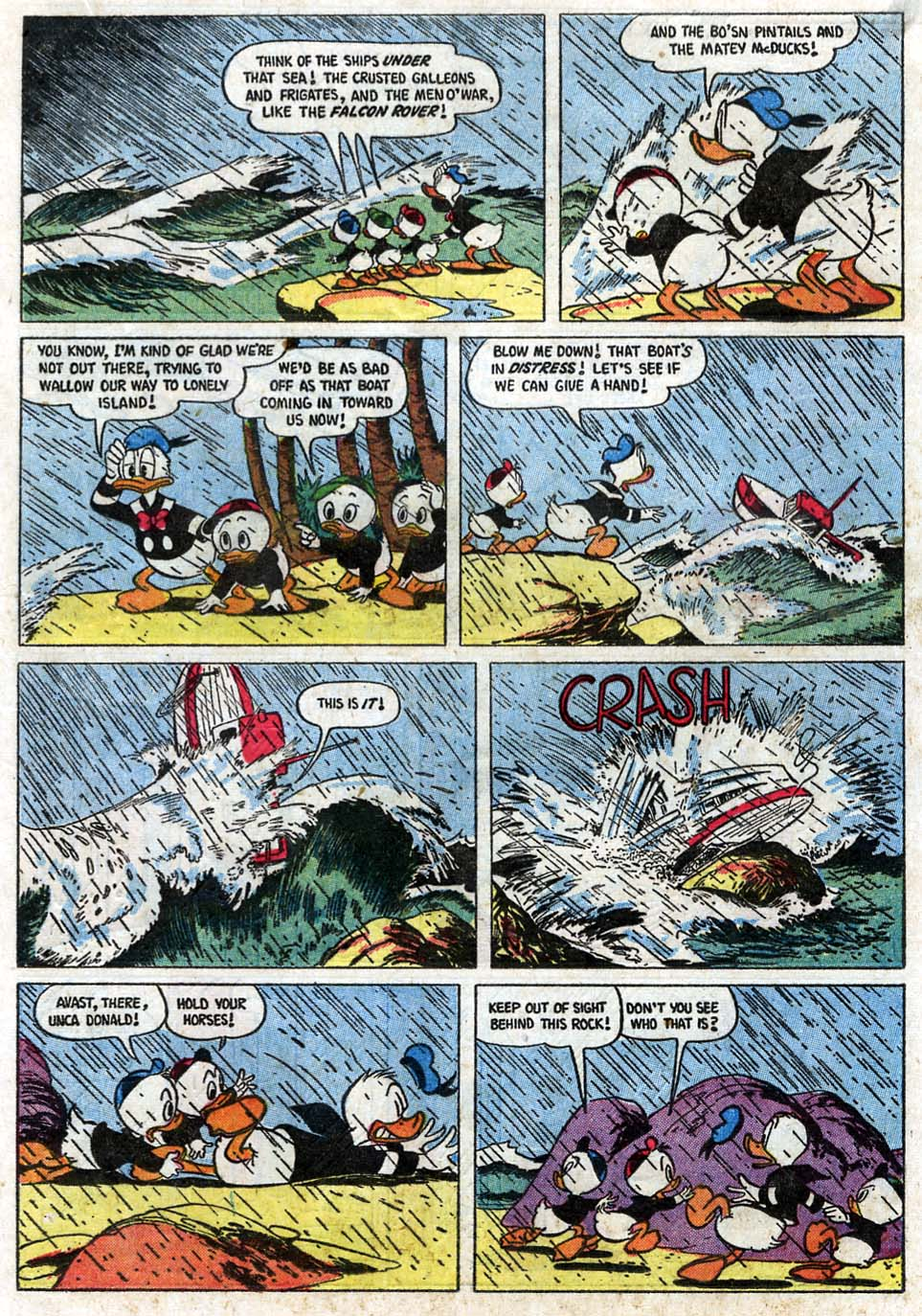 Read online Uncle Scrooge (1953) comic -  Issue #16 - 17