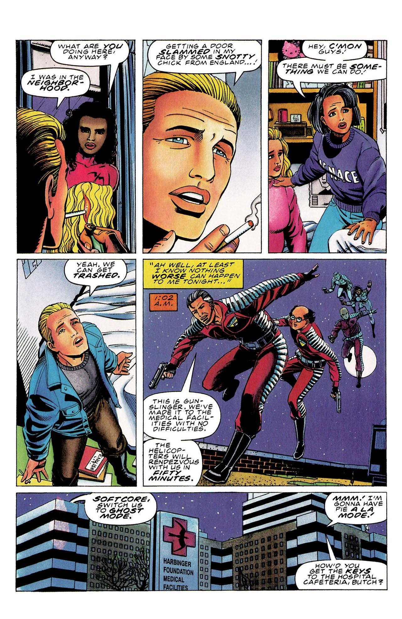 Read online Harbinger (1992) comic -  Issue #30 - 13