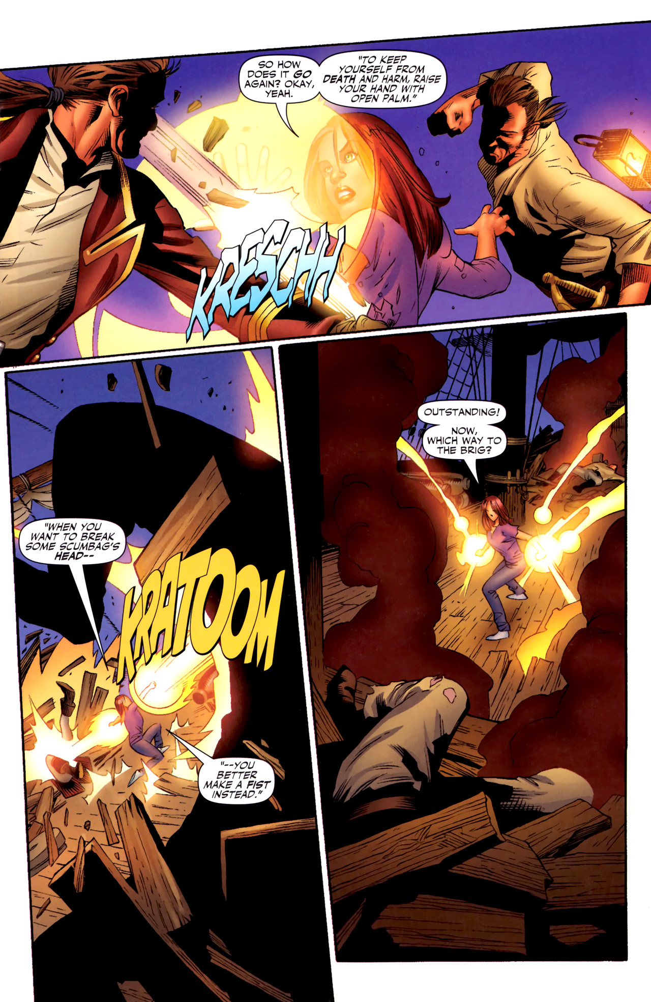 Read online Sigil (2011) comic -  Issue #3 - 4