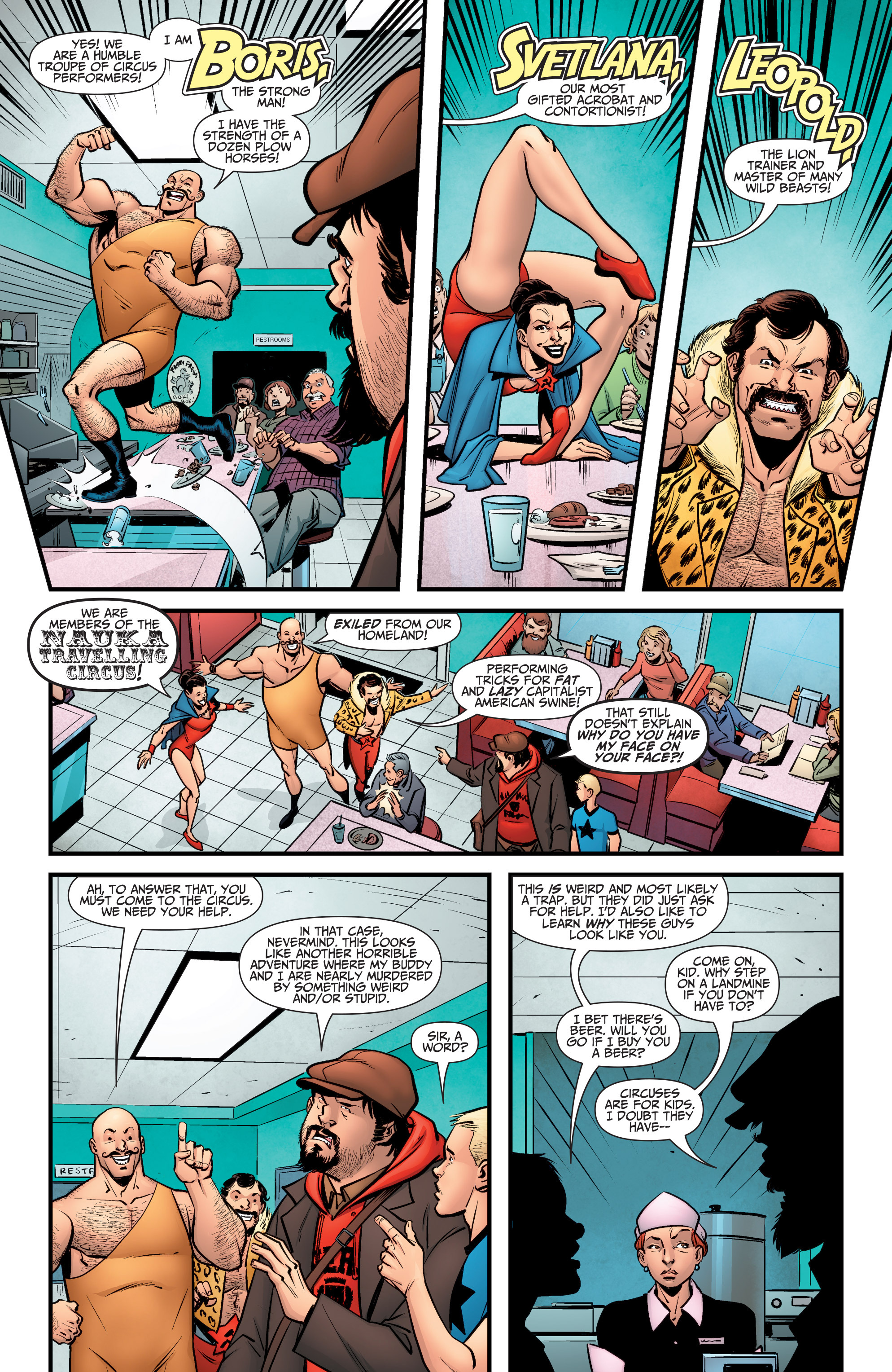 Read online A&A: The Adventures of Archer & Armstrong comic -  Issue #6 - 11
