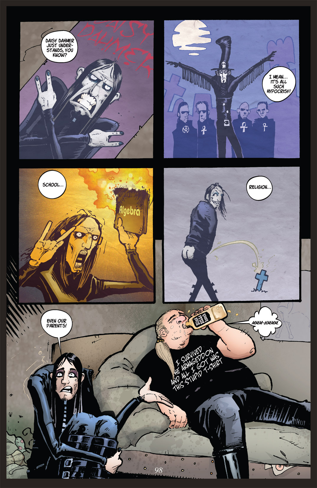 Read online Nightmare World comic -  Issue # Vol. 2 Leave the Light On - 99