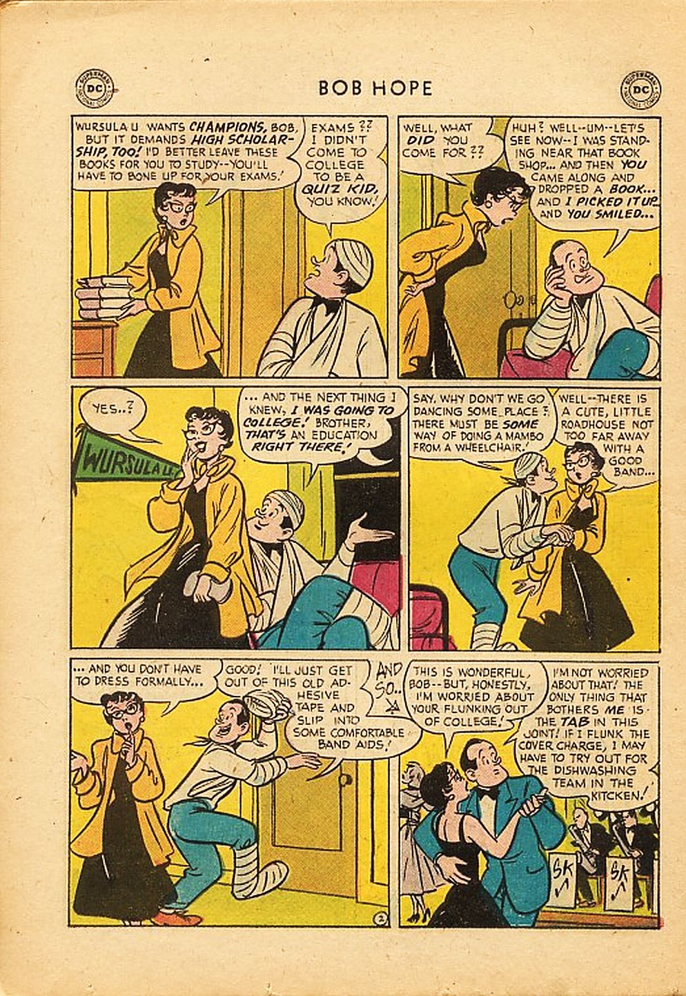 The Adventures of Bob Hope issue 42 - Page 26