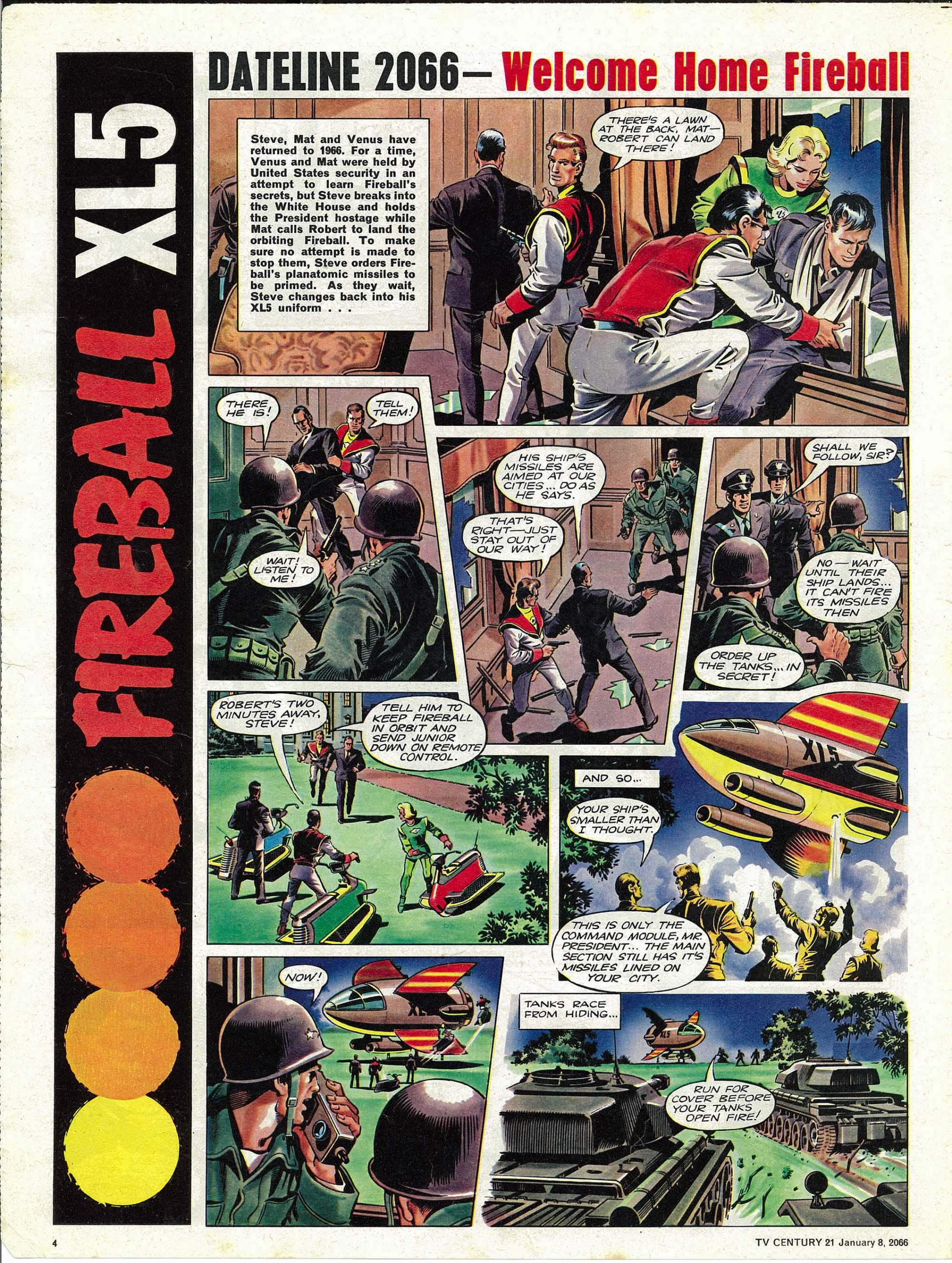 Read online TV Century 21 (TV 21) comic -  Issue #51 - 4
