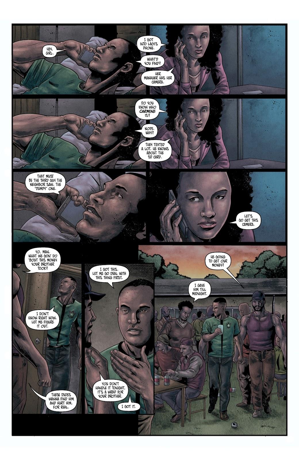 Read online Vindication comic -  Issue #4 - 8