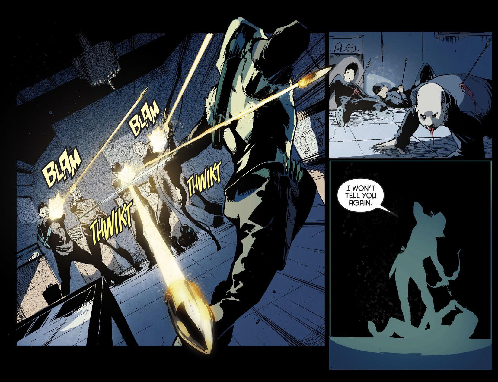Read online Arrow [II] comic -  Issue #7 - 5