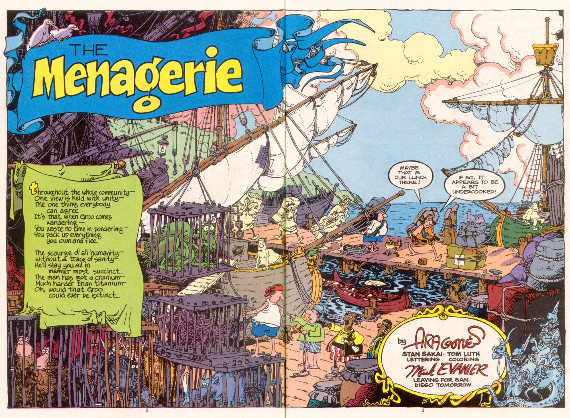 Read online Sergio Aragonés Groo the Wanderer comic -  Issue #95 - 4