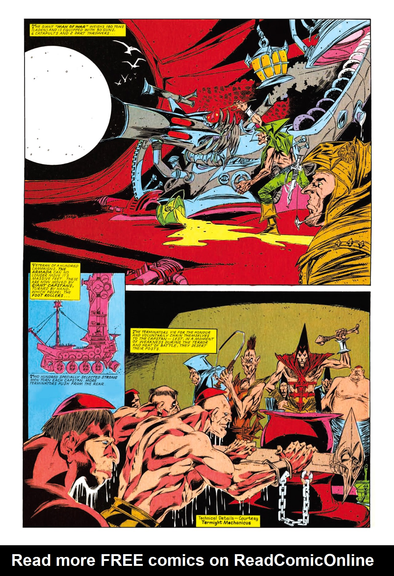 Read online Nemesis The Warlock comic -  Issue # TPB Deviant Edition - 188