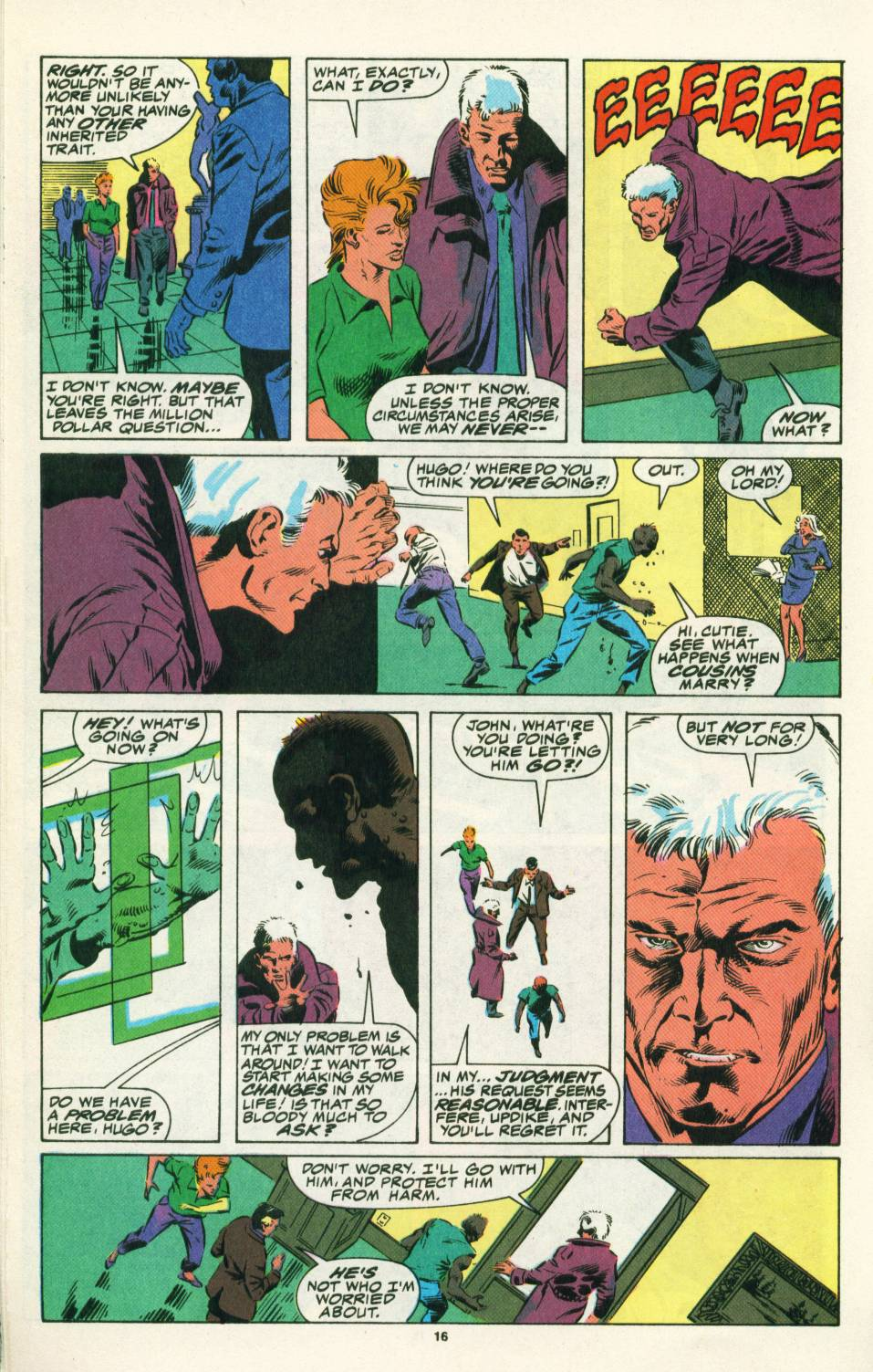 Read online Justice (1986) comic -  Issue #25 - 18