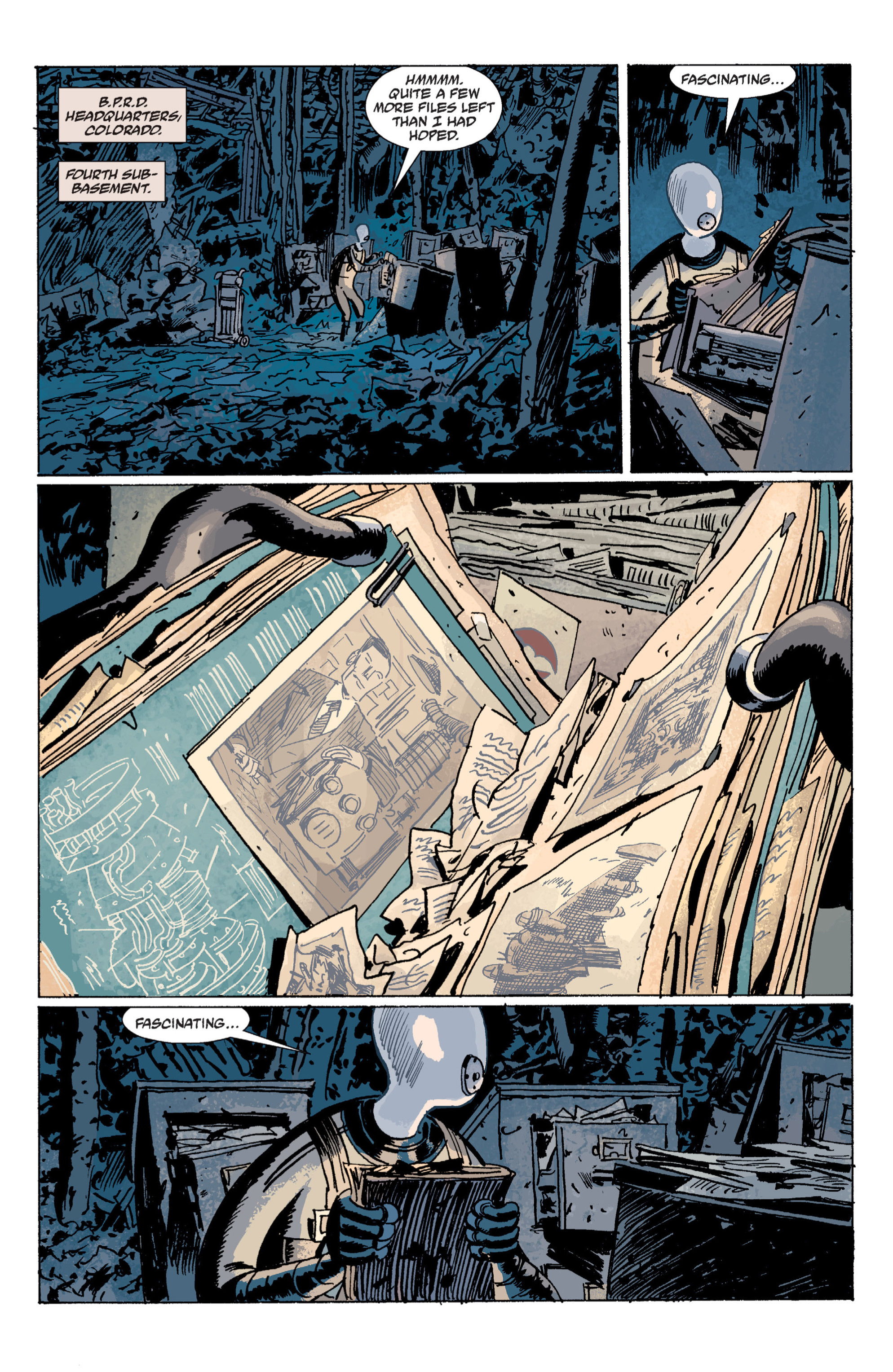 Read online B.P.R.D. (2003) comic -  Issue # TPB 7 - 40