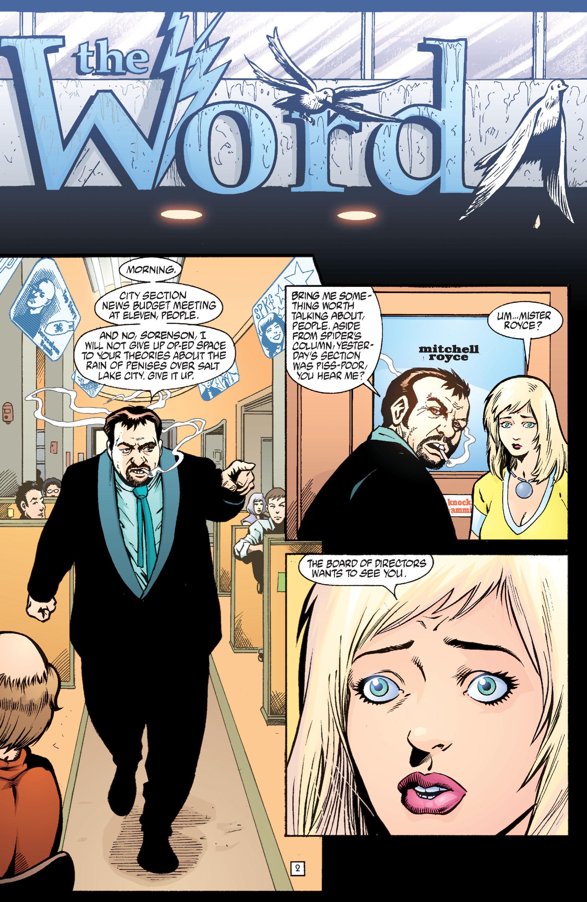 Read online Transmetropolitan comic -  Issue #36 - 3