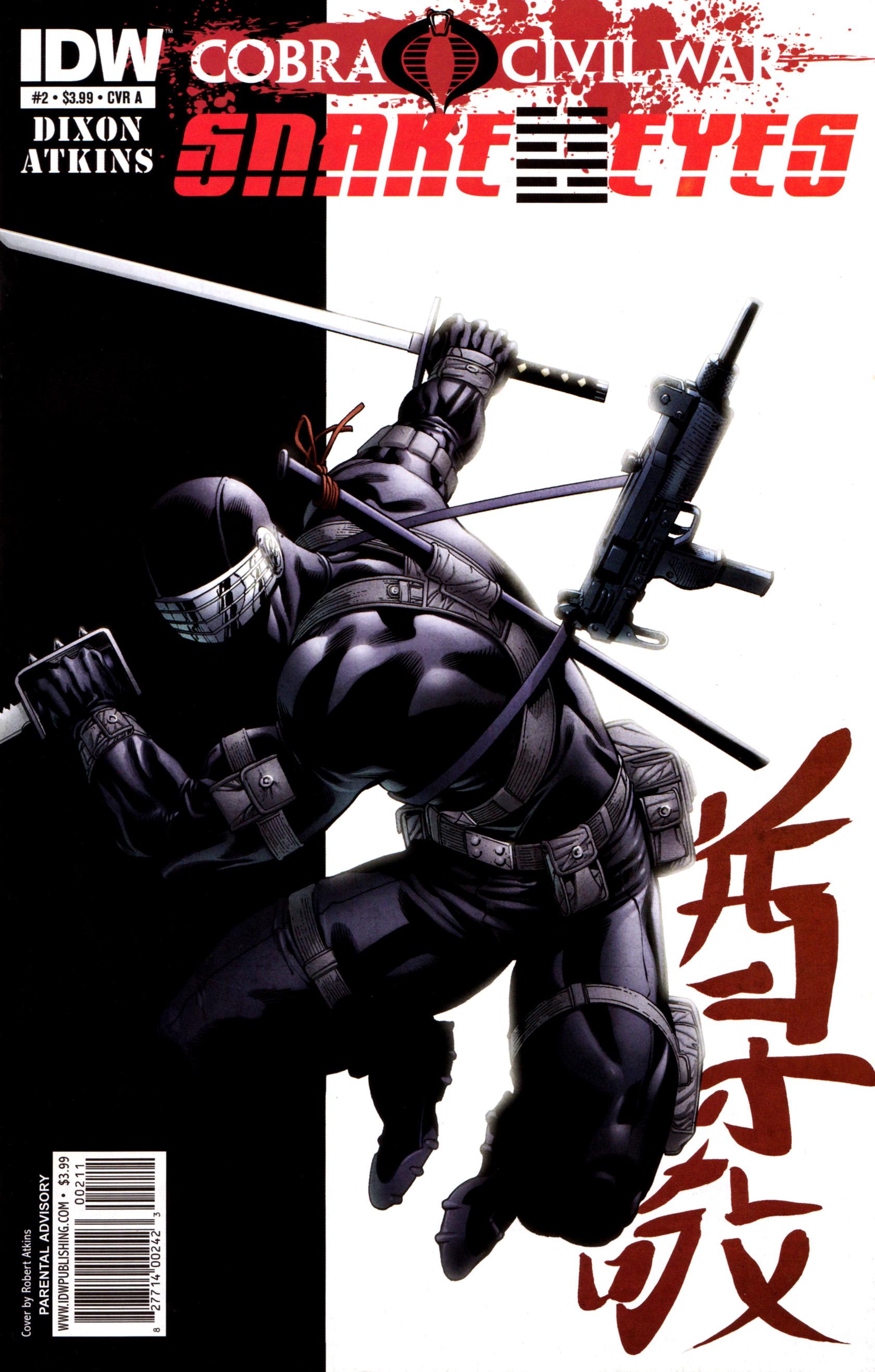 Read online G.I. Joe: Snake Eyes comic -  Issue #2 - 1