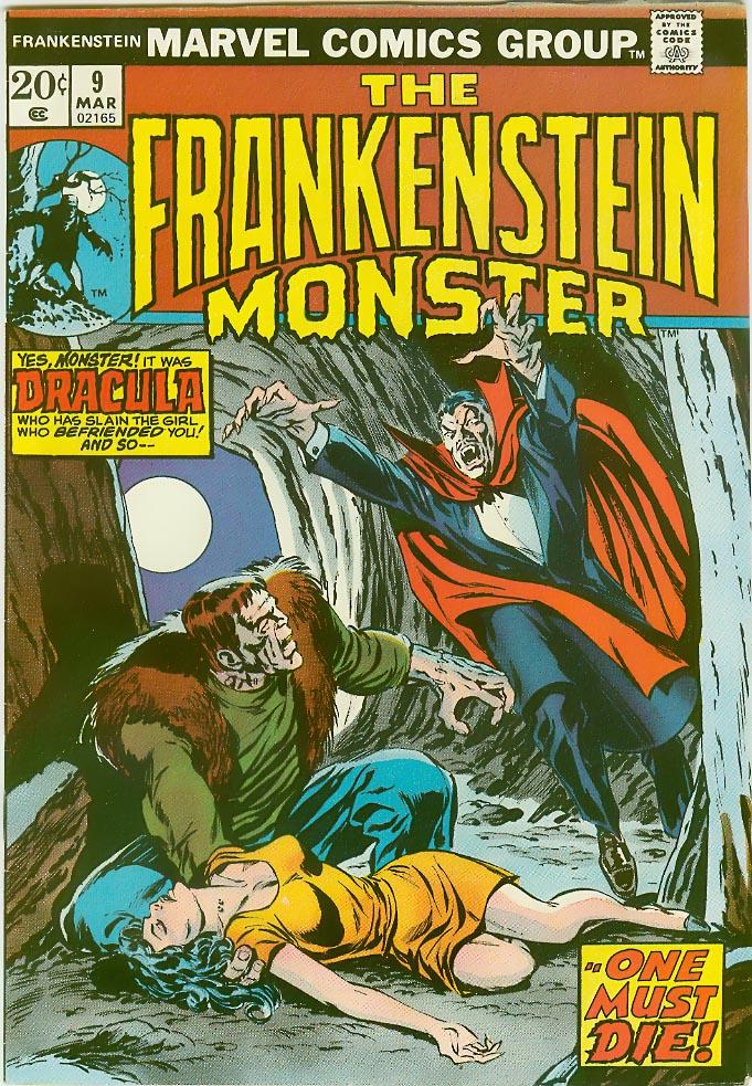 Frankenstein (1973) issue 9 - Page 1