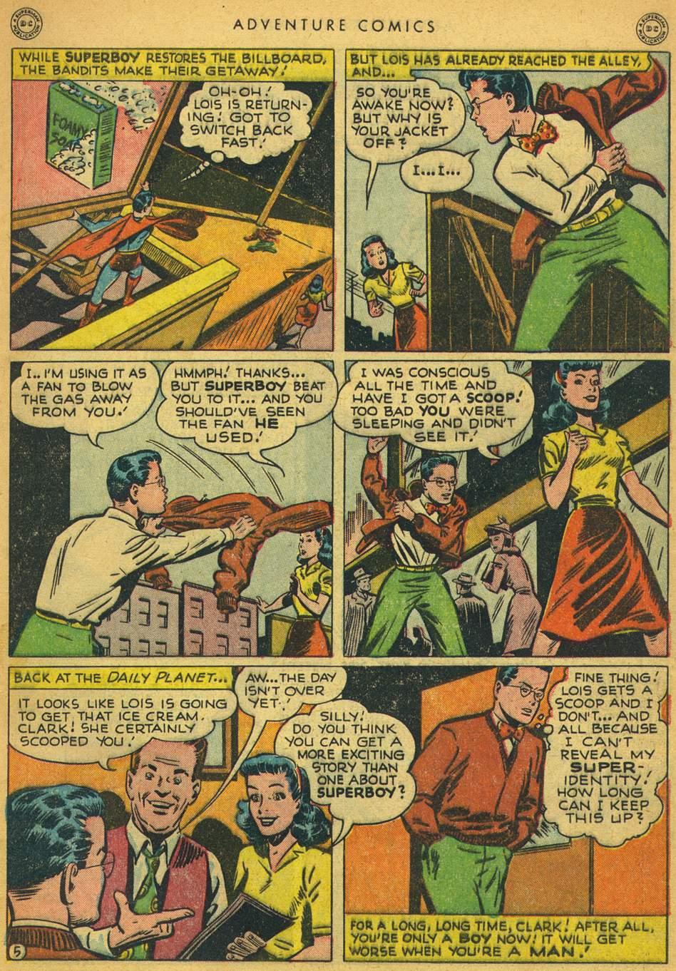 Read online Adventure Comics (1938) comic -  Issue #128 - 6