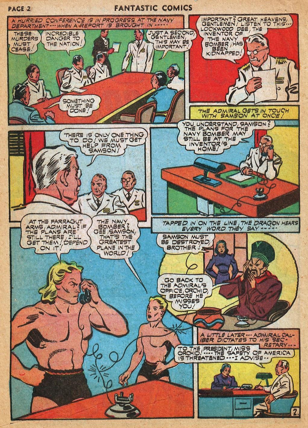 Read online Fantastic Comics comic -  Issue #22 - 4