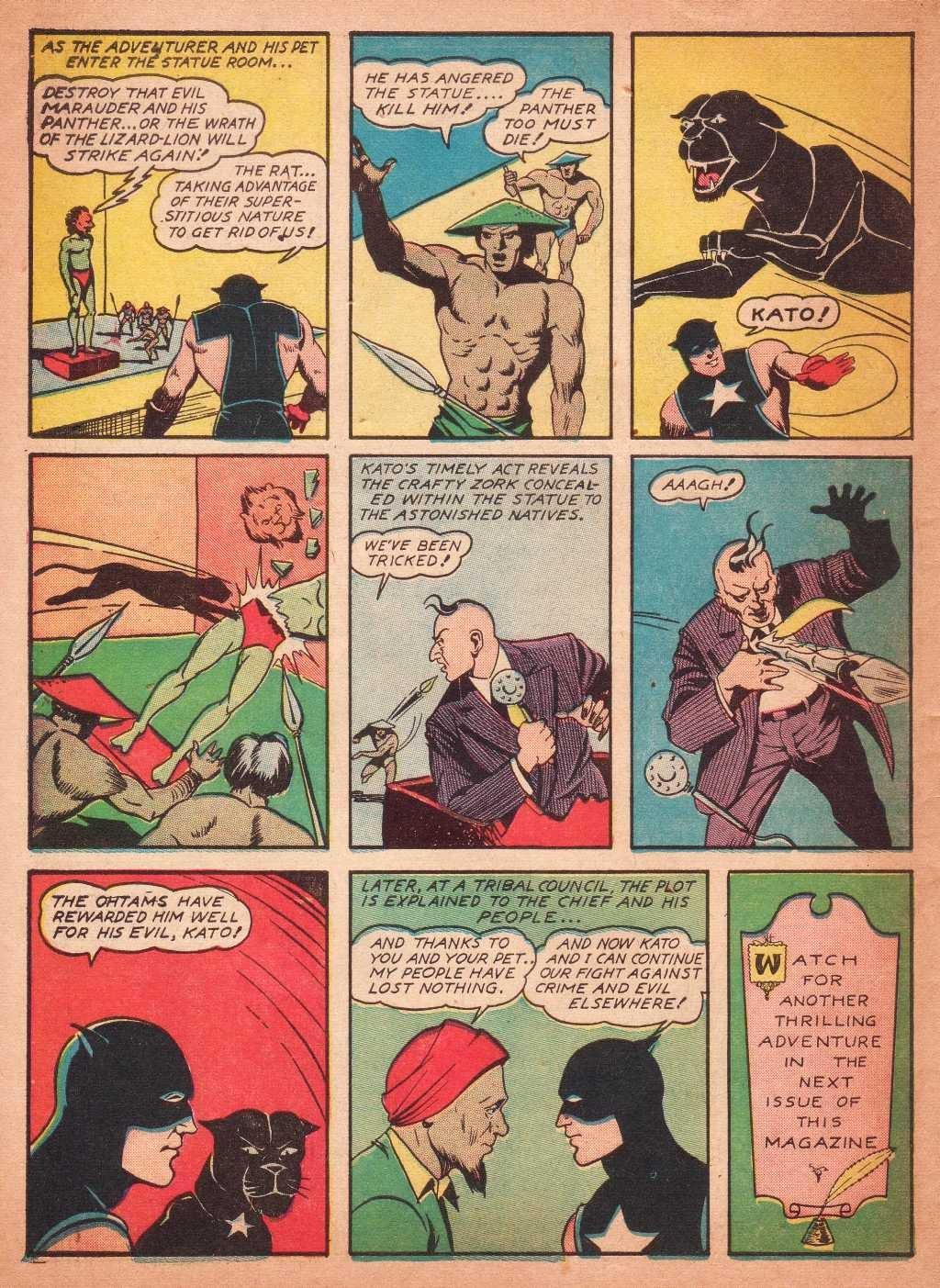 Read online Super-Magician Comics comic -  Issue #2 - 54
