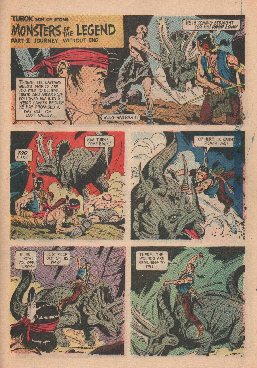 Read online Turok, Son of Stone comic -  Issue #55 - 23