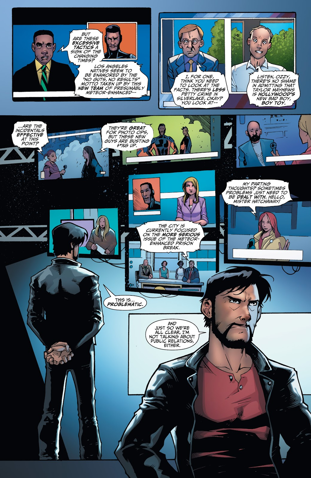 Read online Incidentals comic -  Issue #17 - 3