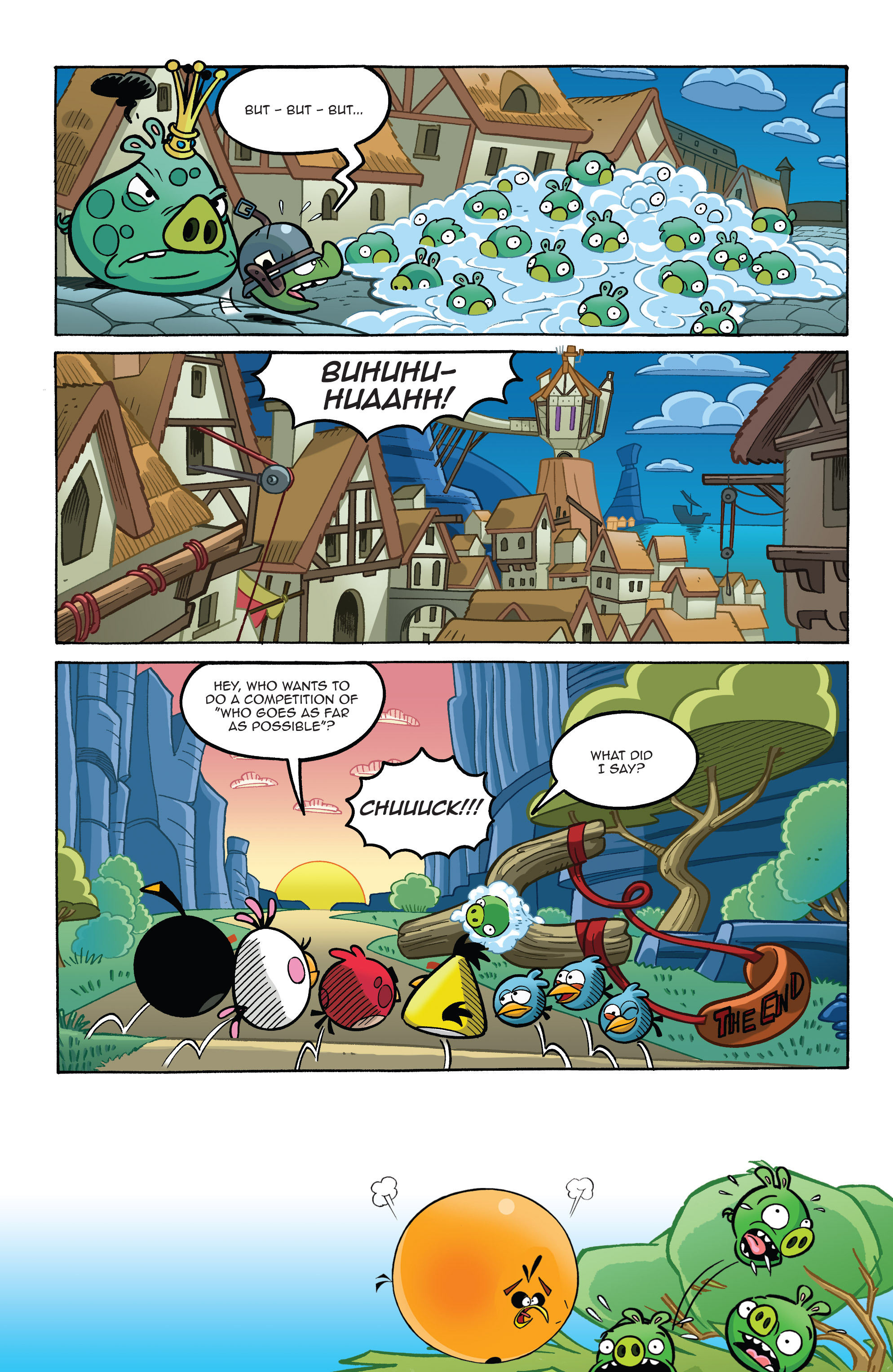 Read online Angry Birds Comics (2014) comic -  Issue #8 - 17