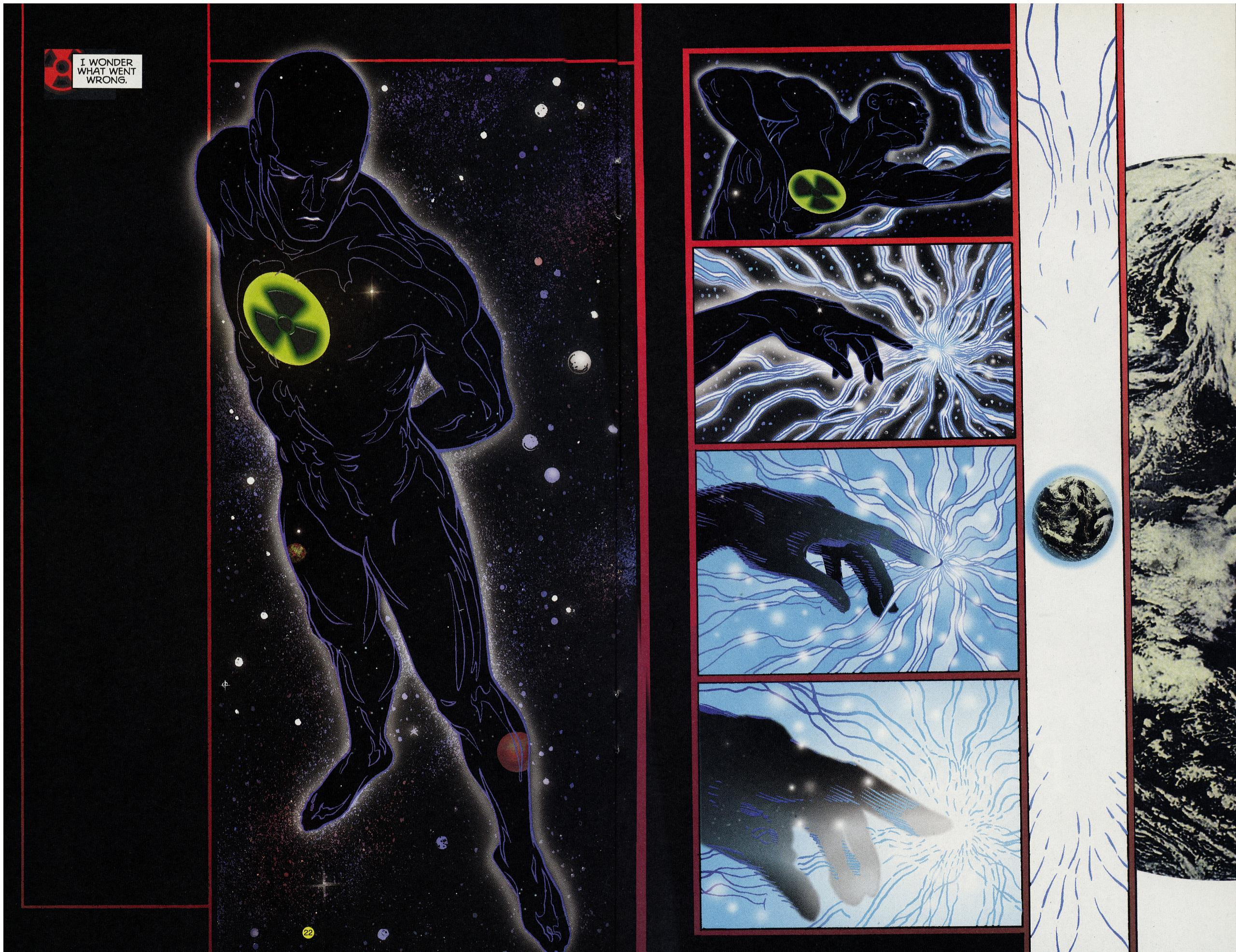 Read online Solar, Man of the Atom: Hell on Earth comic -  Issue #4 - 22