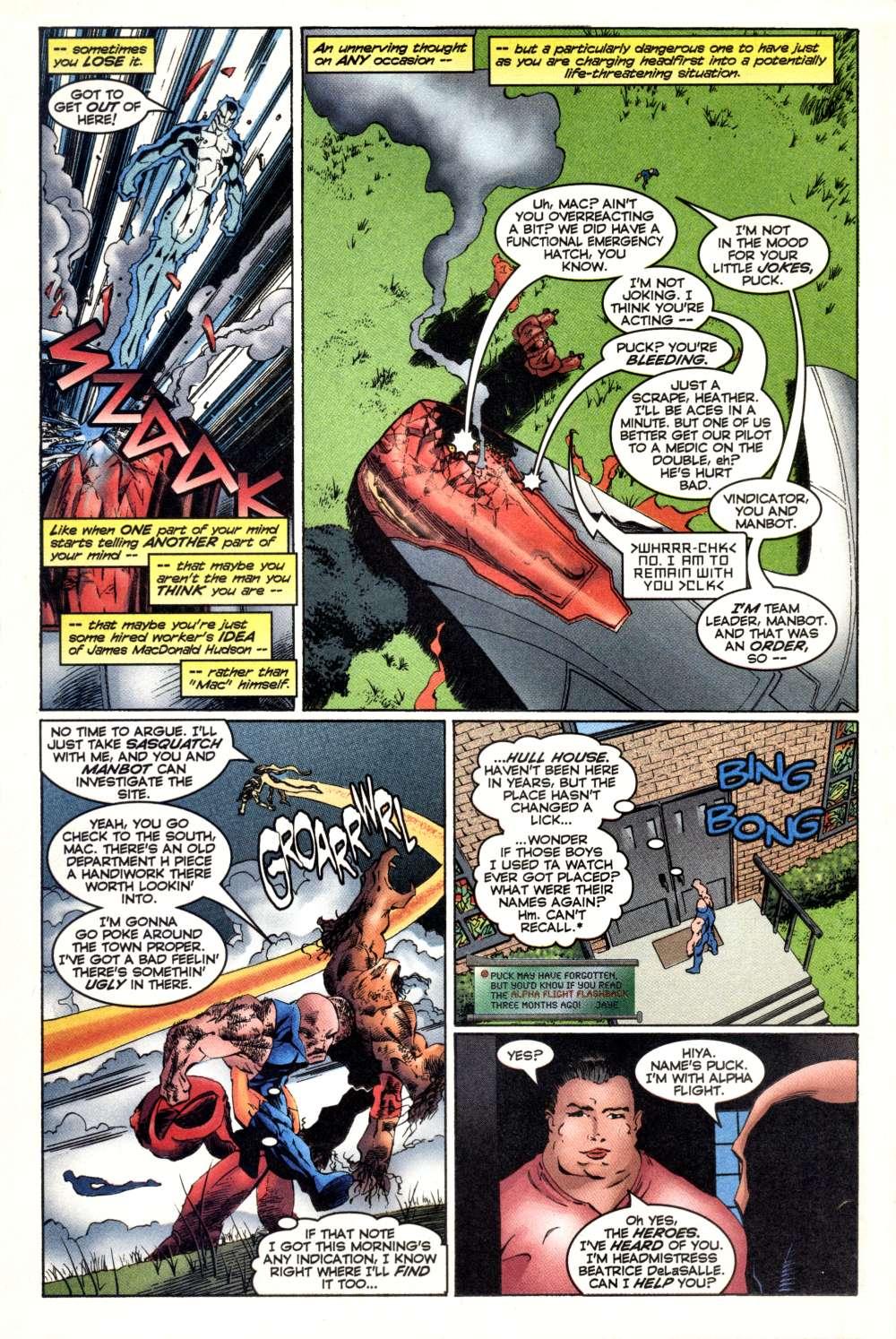 Read online Alpha Flight (1997) comic -  Issue #3 - 13