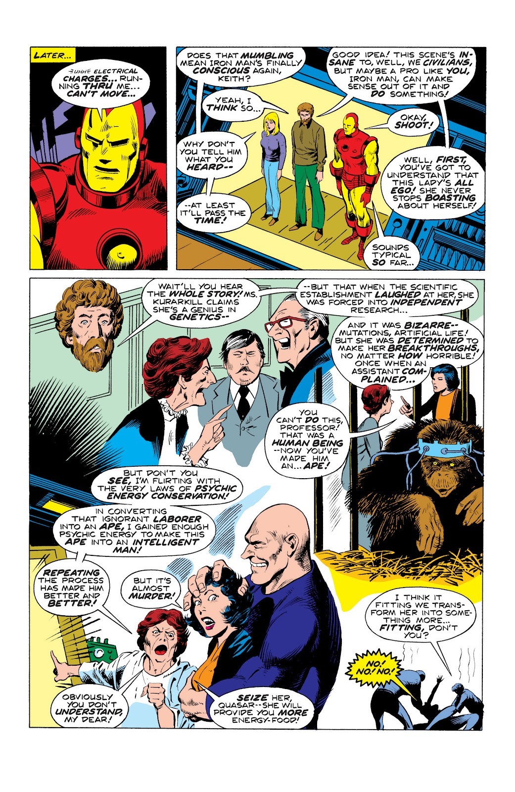 Read online Marvel Masterworks: The Invincible Iron Man comic -  Issue # TPB 10 (Part 3) - 6