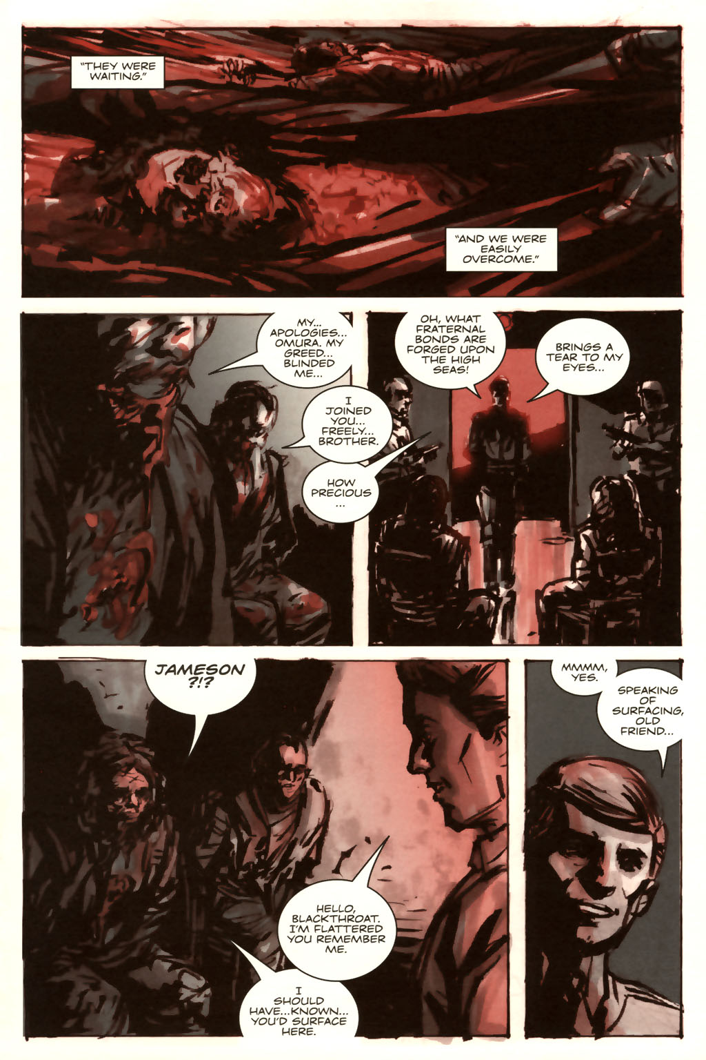 Read online Sea of Red comic -  Issue #9 - 10