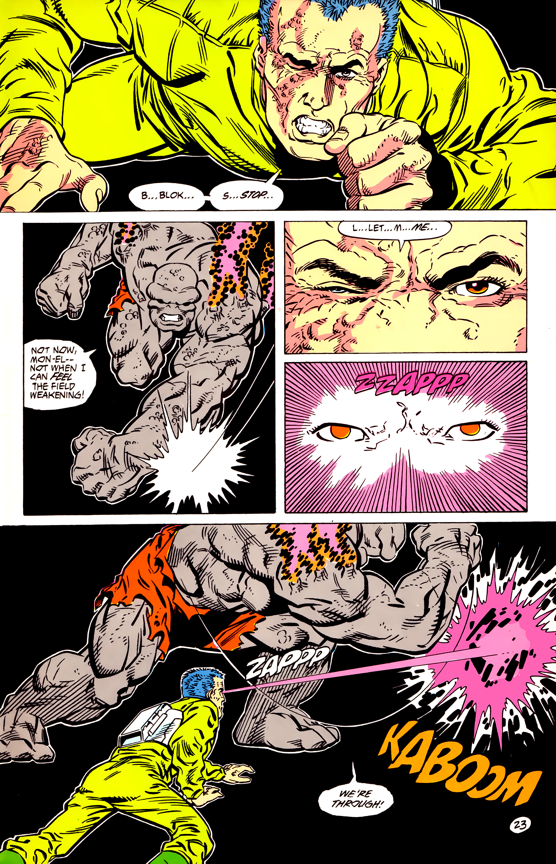 Legion of Super-Heroes (1984) 56 Page 23