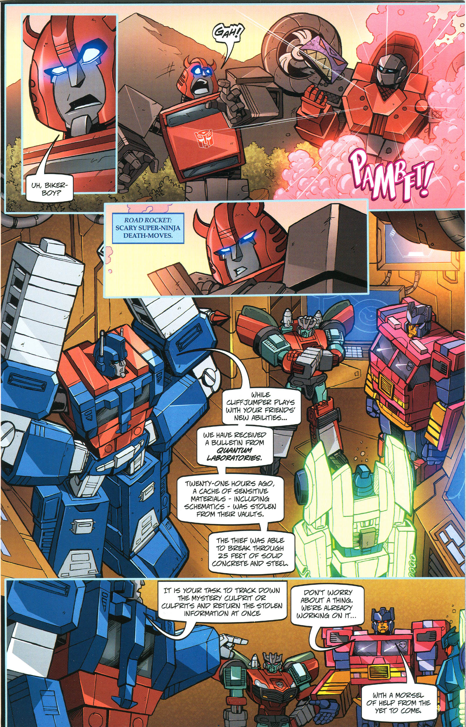Read online Transformers: Collectors' Club comic -  Issue #44 - 9