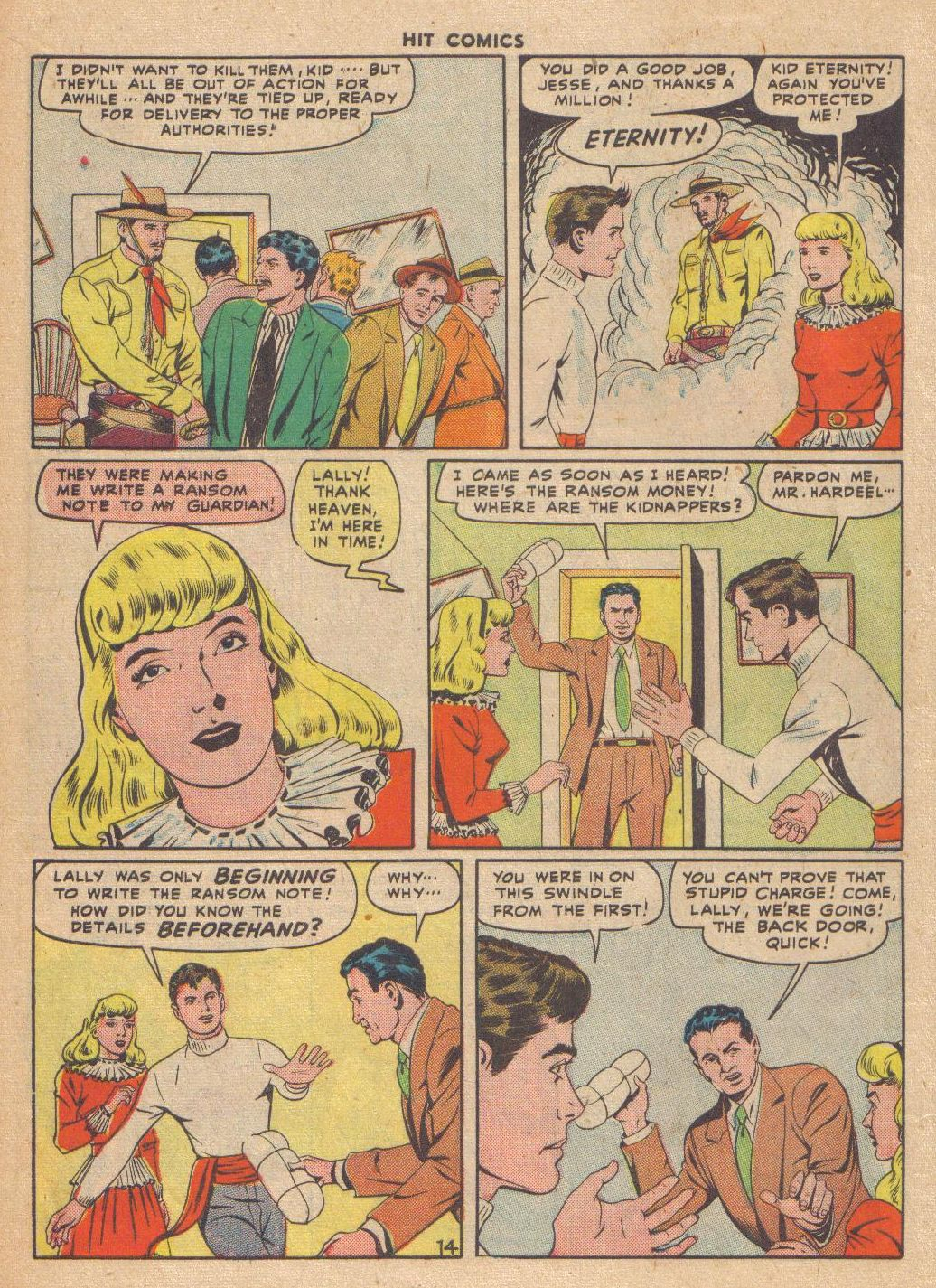 Read online Hit Comics comic -  Issue #46 - 16
