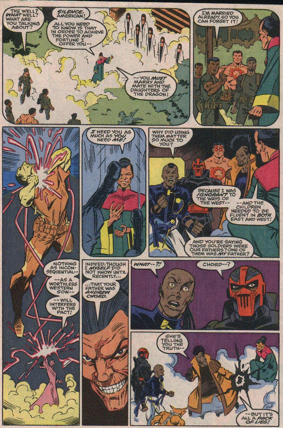 The New Warriors Issue #23 #27 - English 21
