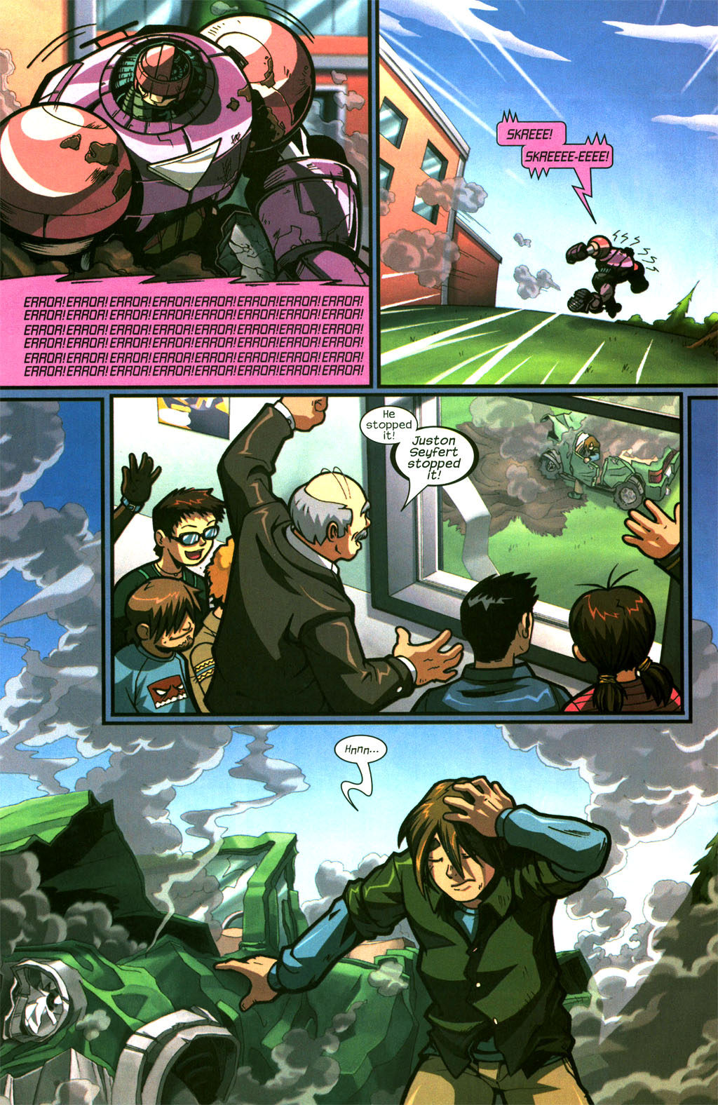 Read online Sentinel comic -  Issue #6 - 11