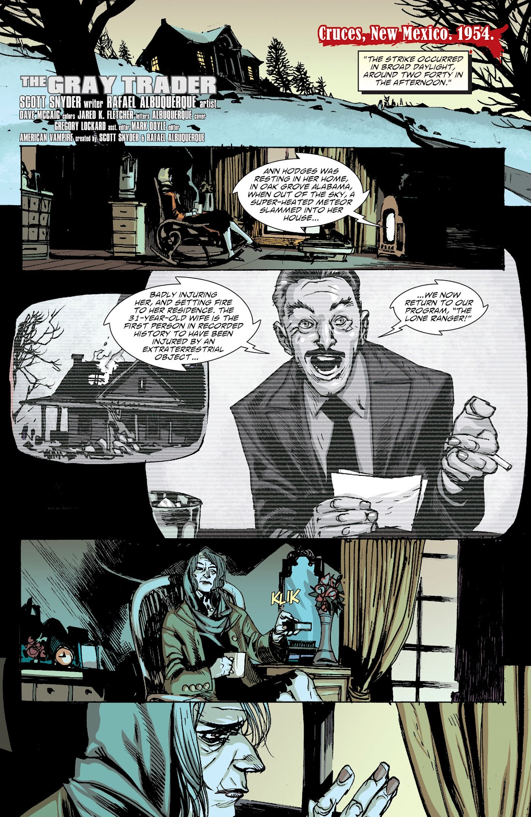 American Vampire issue 34 - Page 2