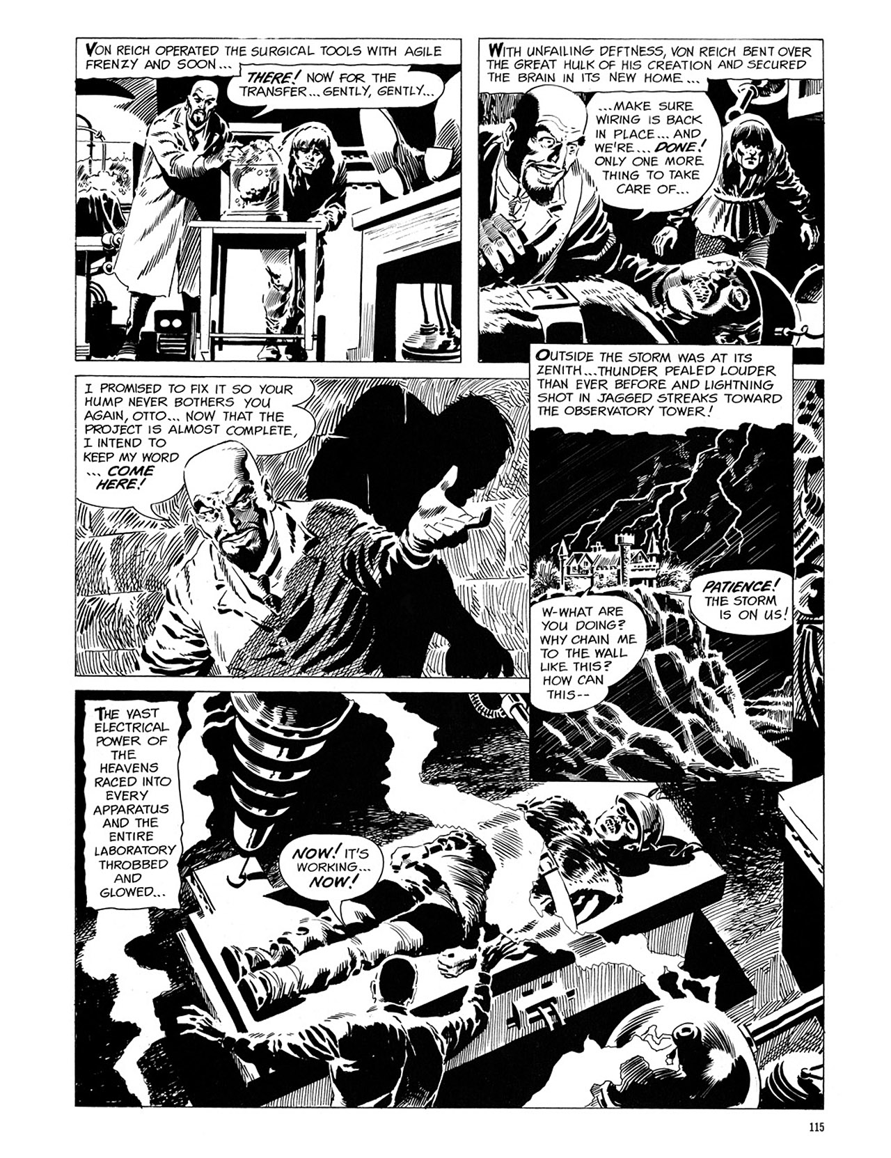 Read online Eerie Archives comic -  Issue # TPB 1 - 116