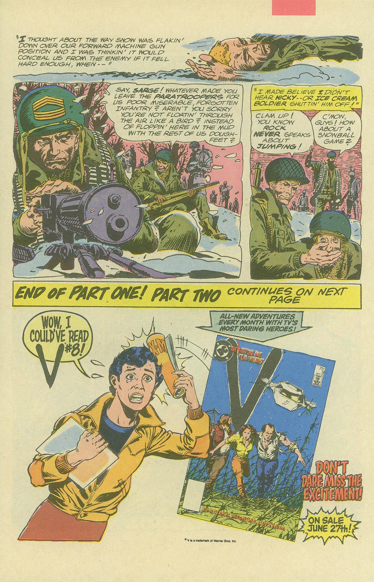Read online Sgt. Rock comic -  Issue #404 - 9